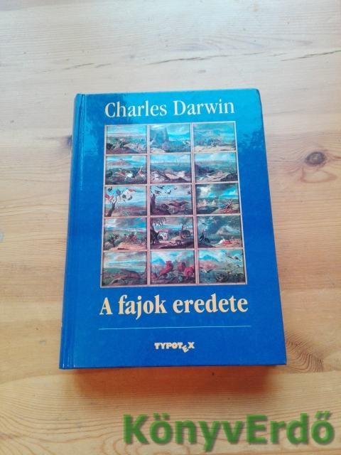 Charles Darwin: A fajok eredete könyv