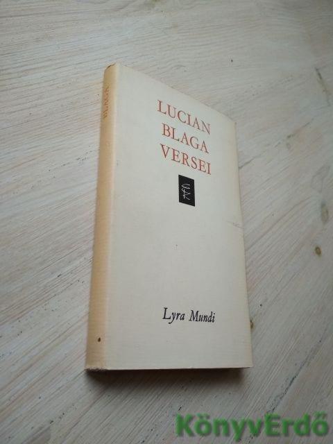 Lucian Blaga: Lucian Blaga versei